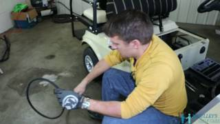 3. How to Replace your Starter Generator Belt on the 2004 Club Car DS Gas Golf Cart