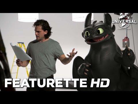 Cómo entrenar a tu dragón 3 - Casting de Kit Harington con Desdentao?>
