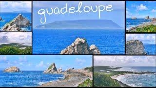 Gwadloup ; Guadeloupe ; Gwada ; Guadaloupe ; Guadalupe : à 11 kilomètres de Saint-François , la Pointe des Châteaux...
