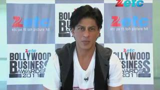 SRK at ETC Bollywood Business Awards 2011
