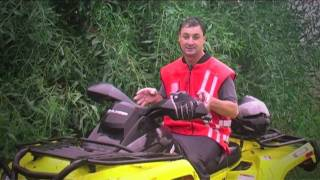 7. CanAm Outlander 500 XT Review 2011