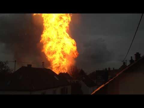 Alemania: explosión de gas deja un muerto y 26 heridos [VIDEOS]