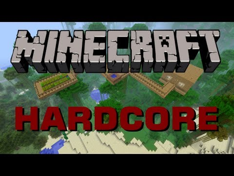 Minecraft - Hardcore - Ocelot and House (Ep 5)