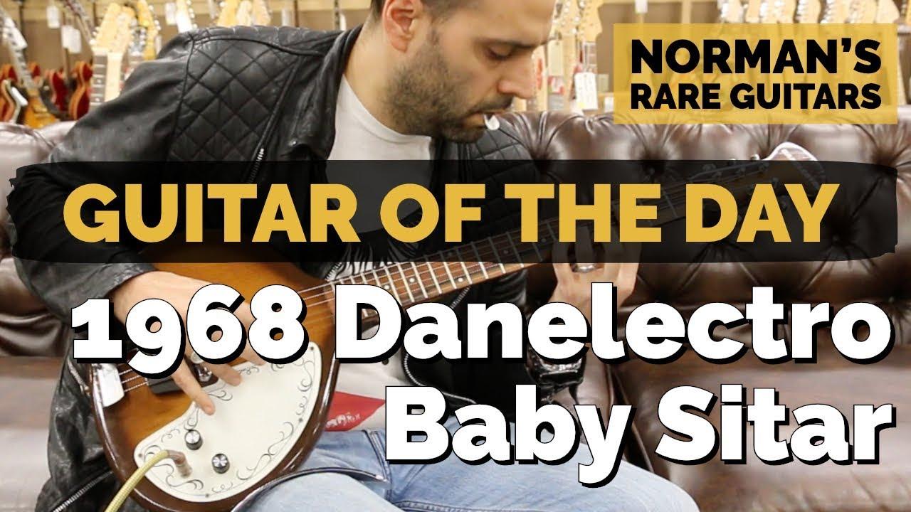 Guitar of the Day: 1968 Danelectro Baby Sitar | Norman's Rare Guitars