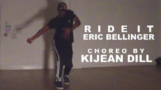 Eric Bellinger - Ride It | TNT Class, Edinburgh | Kijean Dill Choreography