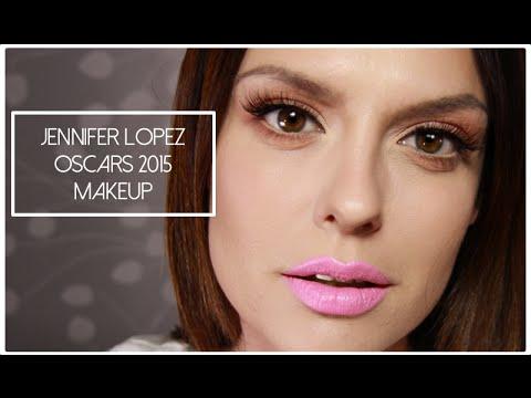 Jennifer Lopez Oscars 2015 Makeup Tutorial