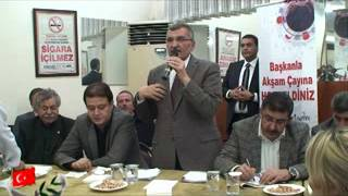 Zeytinburnu Belediye Başkanı Murat Aydın'la Akşam Çayı Sümer Mahallesindeydi