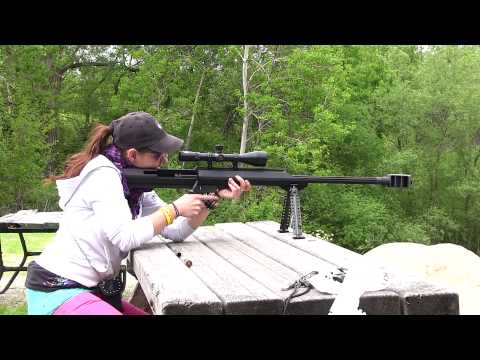 What is a 50 caliber Barrett? EPIC FUN! FateofDestinee