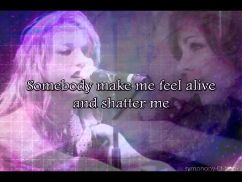 Shatter Me - Lindsey Stirling ft Lzzy Hale lyrics
