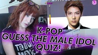 Kpop Guess The Male Idols Quiz!