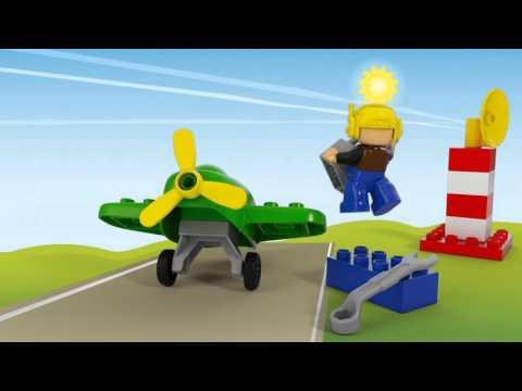 Vidéo LEGO Duplo 10808 : Le petit avion