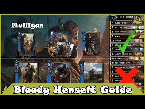 Bloody Henselt - Gwent Deck Guide