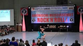 Carolin Diepenbruck & Aljoscha Diepenbruck - Bayerische Meisterschaft 2014