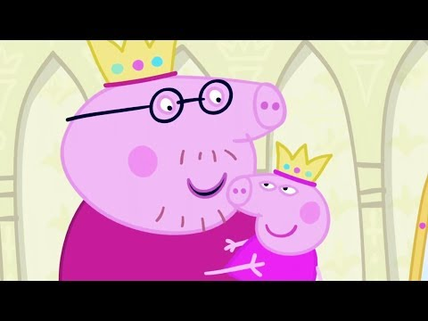 Peppa Pig in Hindi - Sleepy Princess - Susth Rajkumari - हिंदी Kahaniya - Hindi Cartoons for Kids