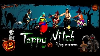 Tappy witch is a tapping game available on the GPlay store.https://play.google.com/store/apps/details?id=com.taureano.tappywitch&hl=enBuilt by Taureano Entertainment (the learnodo team) is tapping game for the Halloween season.