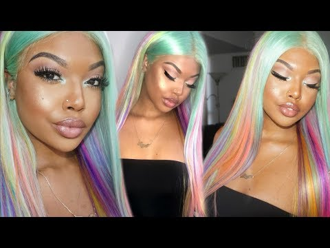 Pastel Unicorn DIY Hair Color Ft Recool Hair aliexpress