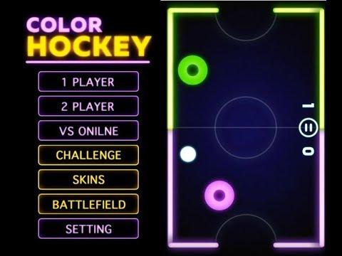 《多彩曲棍球 Color Hockey》手機遊戲玩法與攻略教學!