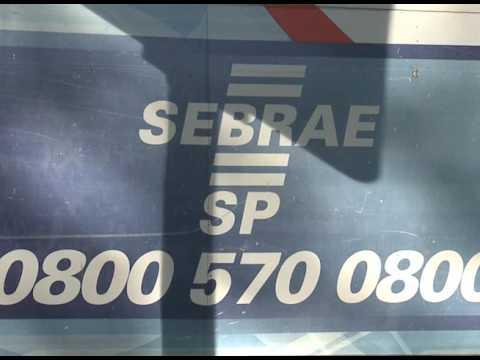 SEBRAE Móvel para atendimento ao Público.