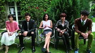 [Eng Sub] 140731 Somewhere Only We Know Director + Cast Interview Full Cut