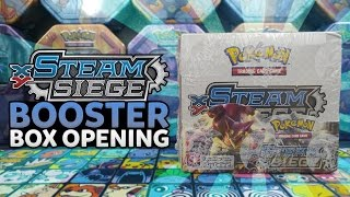 Opening an EPIC Pokemon Steam Siege Booster Box! by The Pokémon Evolutionaries