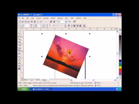 Corel Draw 11 Part  One Of  4 Malayalam Full Length Movie Tutorial Kerala Computer.no1guru.com