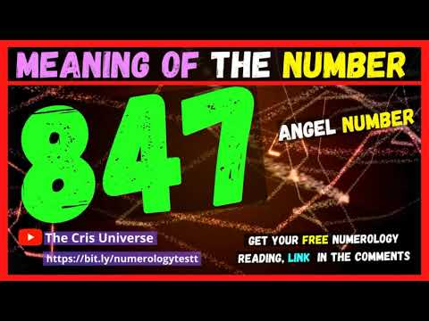🔥❤️ 847 Angel Number Meaning - Meaning and Significance of seeing the Angel Number 847 - 847 in Love