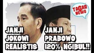 Video Janji Prabowo Ngibul  Janji Jokowi Realistis  Prabowo Juga Tuan Tanah Ternyata!!! MP3, 3GP, MP4, WEBM, AVI, FLV Februari 2019