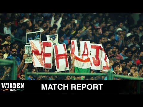 Nehra sent off in style