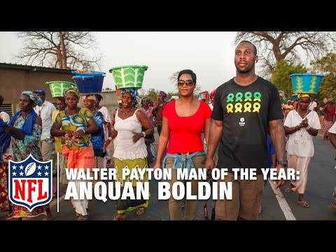 Video: Walter Payton Man of the Year: Anquan Boldin | NFL