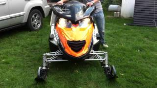 9. 2009 Arctic Cat Z1 Turbo with D&D Stage 2 Barker Can