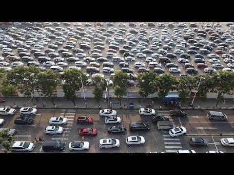 Κίνα: Πυκνή ομίχλη δημιούργησε ουρά 10.000 αυτοκινήτων