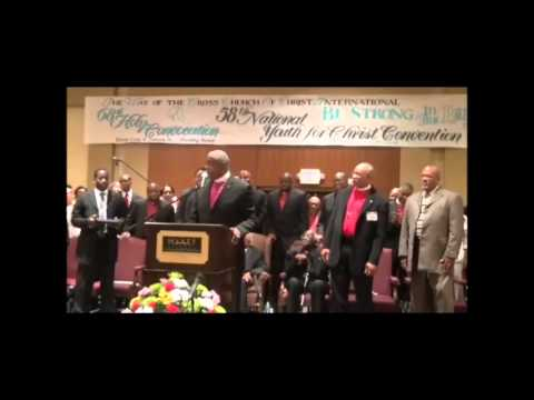 Bishop Alphonzo Brooks (Preaching & Praise Break) - Holy Convocation 2012