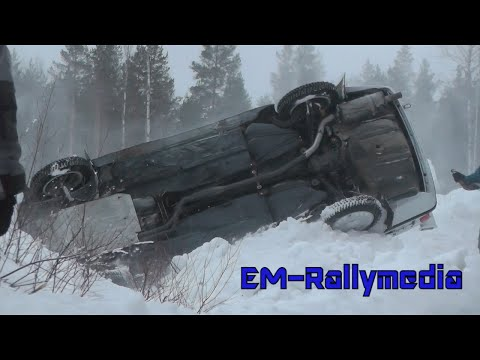 Mänttä 200-ajo 2015 Historic Rally (Incl. 16 crashes/offs)