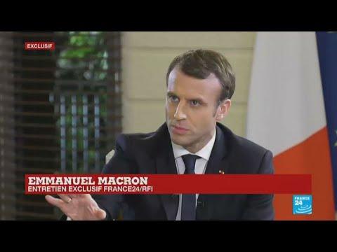 REPLAY COTE D'IVOIRE: - Entretien exclusif avec Emmanuel Macron