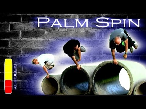 Palm Spin Parkour Tutorial_Best extremsport videos