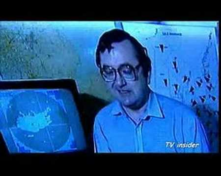 BBC news Michael Buerk lashes Ian McCaskill on storm 1987