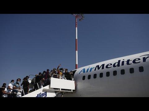 Ελλάδα: 134 Ιρακινοί επέστρεψαν σήμερα εθελοντικά στην πατρίδα τους…