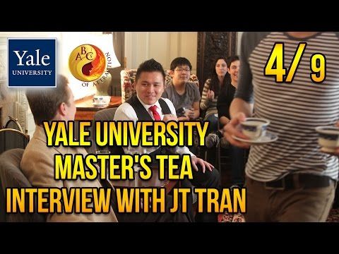 "Jerry ""JT"" Tran at Yale University about Asian American Dating (Part 4)"