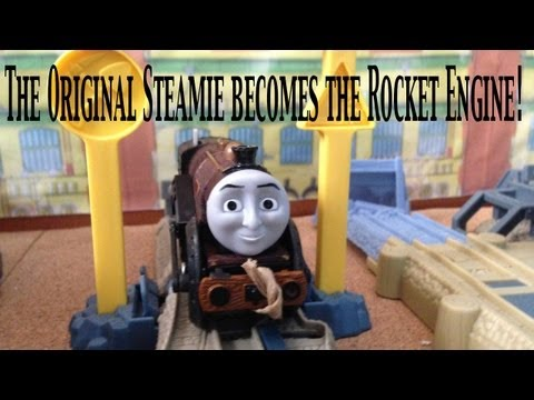 Thomas and Friends Trackmaster Village King of the Railway Stephen at the Steamworks!