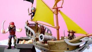Karayip Korsanları! Jack Sparrow'un yine işi çıktı! Sır korsan haritası var ve şimdi hazine aramaya gidiyor! Güzel hızlı bir korsan gemisi de var! Hazine sandığı oyunumuz olacak demek ki! Deniz ortasında bir ada var, orda hazine buluyor ama öbür aç korsanlar engel oluyorlar! Korsan savaşları çıkarlar! #BiBaBuOyunDiyarıOyun Diyarı TV eğitici ve öğretici yeni çizgi filmlere ve çocuk videolara kolaylıkla ulaşabilirsiniz. Eğlenerek  ve öğrenmek için en güzel çizgi filmler ve videolar. Bizim üyemiz olun, yeni çizgi filmleri kaçırmayın.Bizi Facebook'ta takip ediniz:https://www.facebook.com/Oyuncu-TV-511681979002646/https://www.facebook.com/bebeturktv/Vkontakte :https://vk.com/kapukikanukihttps://vk.com/bebeturk