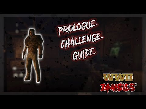 Mountaineer Prologue Challenge Guide (COD WW2 Zombies) (видео)