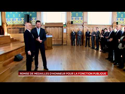 Remise des Médailles de la Fonction publique