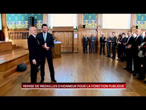 Presentation of Civil Service Medals