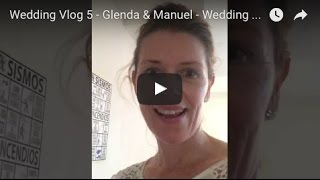 Wedding Vlog 5 - Glenda & Manuel - Wedding photography in Mexico