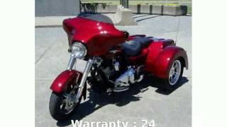 8. 2010 Harley-Davidson Trike Tri Glide Ultra Classic -  Top Speed superbike Features Details