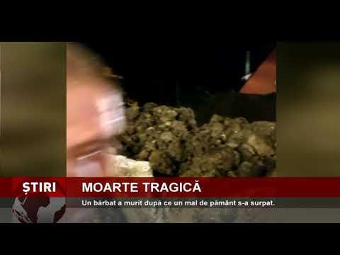 Un bărbat a murit după ce un mal de pământ s-a surpat