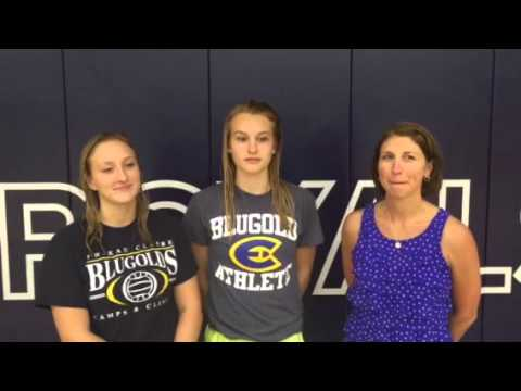 Kasey Schumacher, Emily Miller, and Coach Wudi recap volleyball's big weekend!