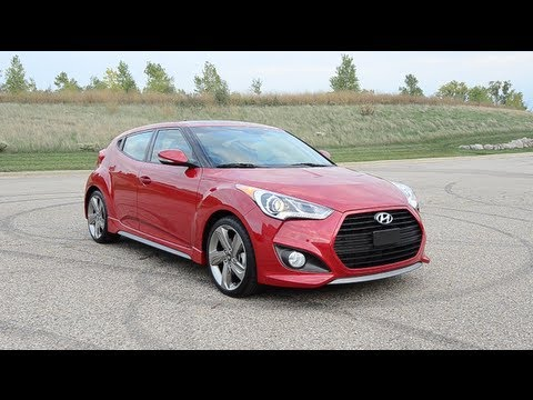 2013 Hyundai Veloster Turbo – WINDING ROAD POV Test Drive