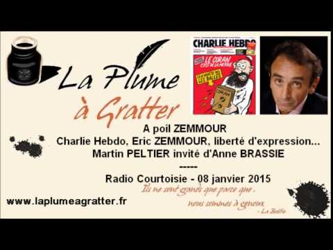 A poil Zemmour - Charlie Hebdo, Zemmour, liberté d'expression – Radio Courtoisie (08 janvier 2015)