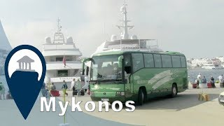 Mykonos | Bussing around the beach